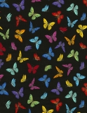 Tossed Small Butterflies - Prism
