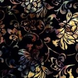 Bali Batik - Scrolly Floral Sugarplum