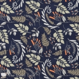 Fern Bouquet Navy