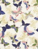 Sakura Quilted Butterflies Cream