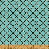 Grand Illusion Lattice Turquoise