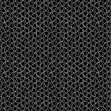 Dot Waves Black White