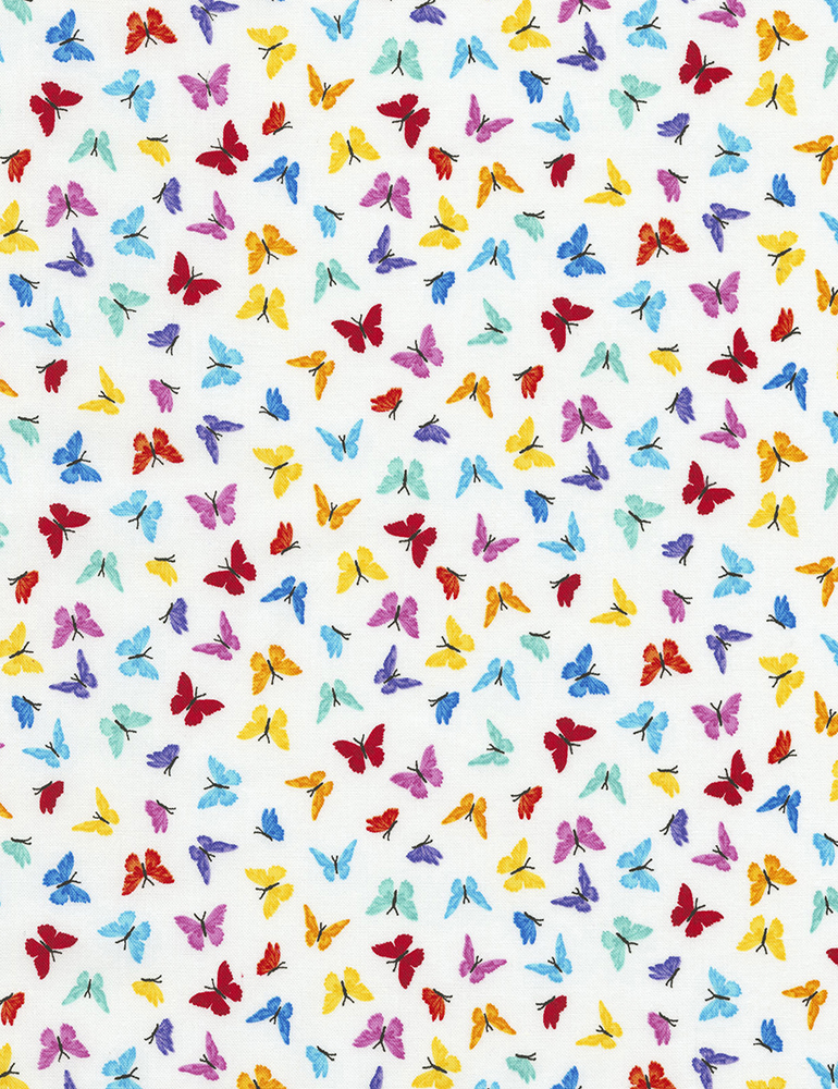 Mini Butterflies White - Prism