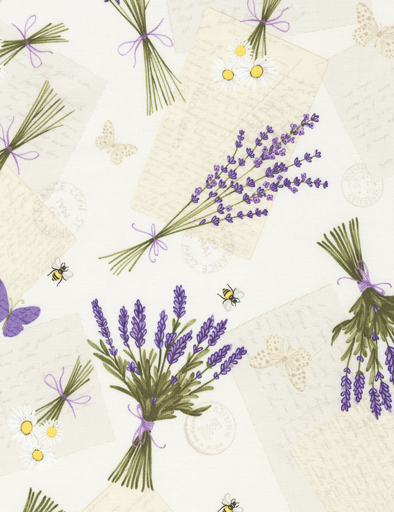 Tossed Lavender & Bees