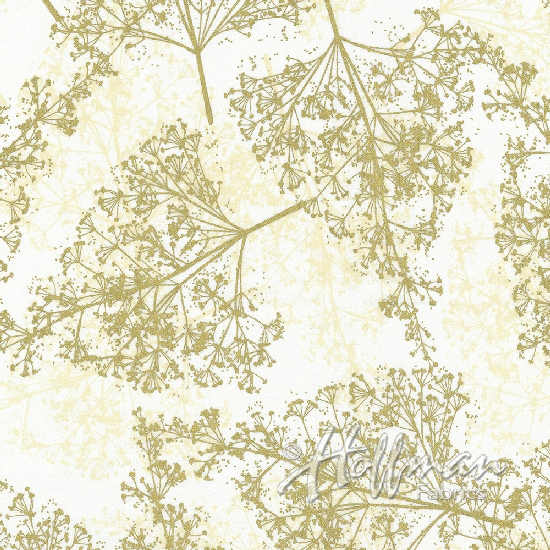 Sparkle and Fade Papyrus Gold Babys Breath