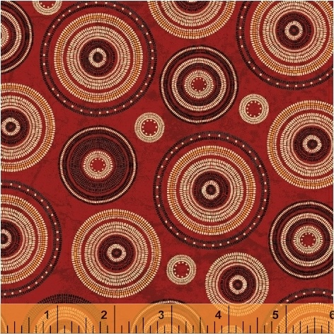 Adobe - Southwest Circles Red