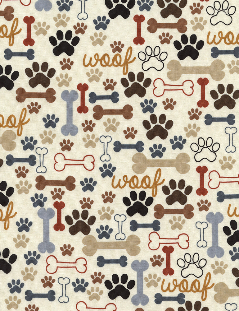 Dog Bones & Paw Prints