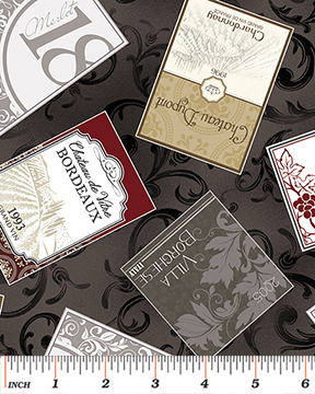 Vineyard Labels Grey