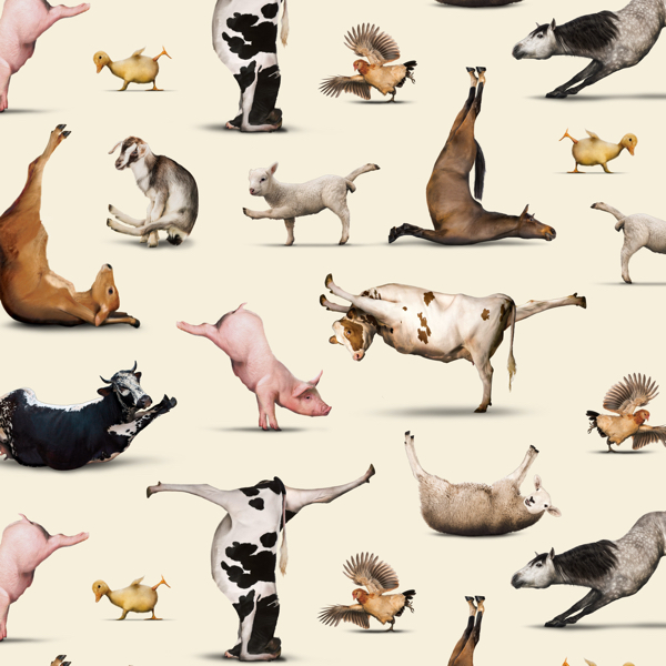 Yoga is for Everyone Animal Poses Cream