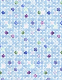 Harmony Watercolor Dots Sky