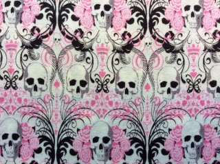 Regent Skull Pink - Knifty Knit