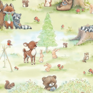 Forest Animal Camp