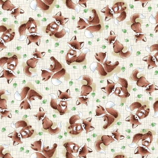Taupe Fox