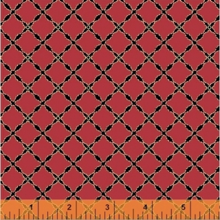 Grand Illusion Lattice Crimson