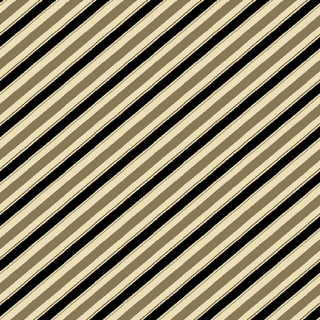 Barber Stripes Taupe/Black