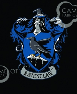 House Crests Panel in Black - erb RAVENCLAW