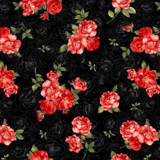 Small Red Rose Bouquets Black
