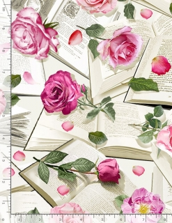 Roses With Books
