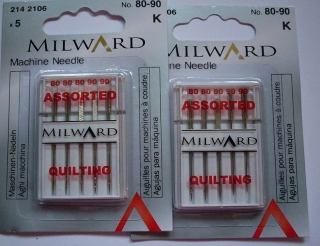 MILWARD Jehly QUILTING 80-90